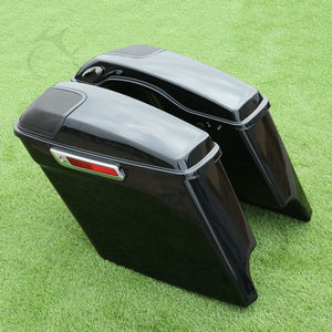 Cutout Extended Stretched Saddlebags