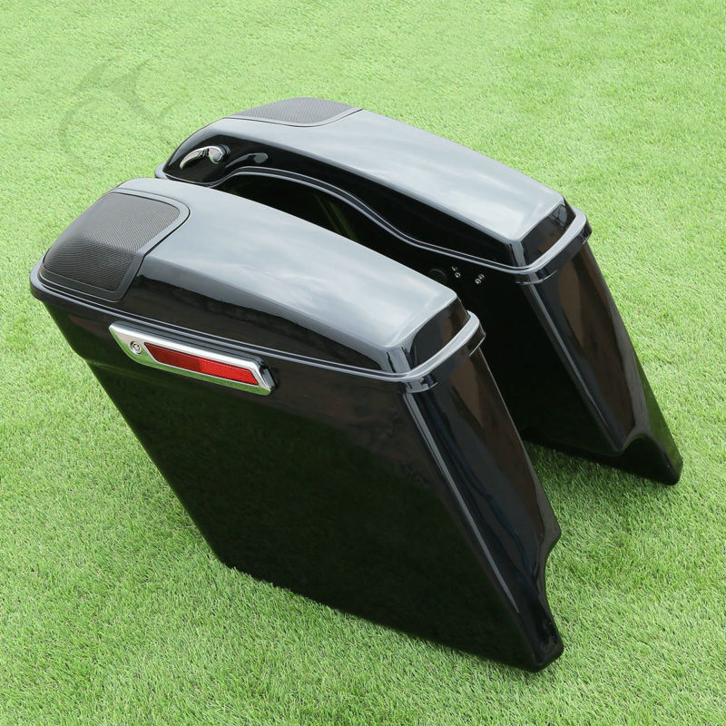 Cutout Extended Stretched Saddlebags - Trivoshop