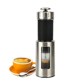 Portable Coffee Maker Mini Espresso Coffee Machine 80ML Manual Coffee Maker Outdoor Travel Coffee Maker - Trivoshop