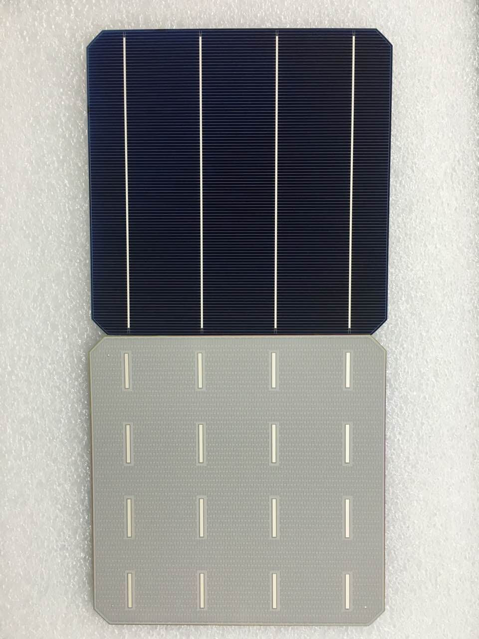 100Pcs 5.03W 20.6% Effciency Grade A 156 * 156MM Photovoltaic Mono Monocrystalline Silicon Solar Cell 6x6 For Solar Panel - Trivoshop.com