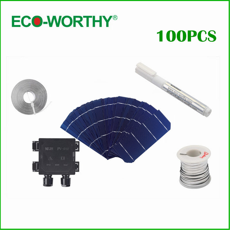Monocrystalline Photovoltaic Silicon Solar Cells Shop