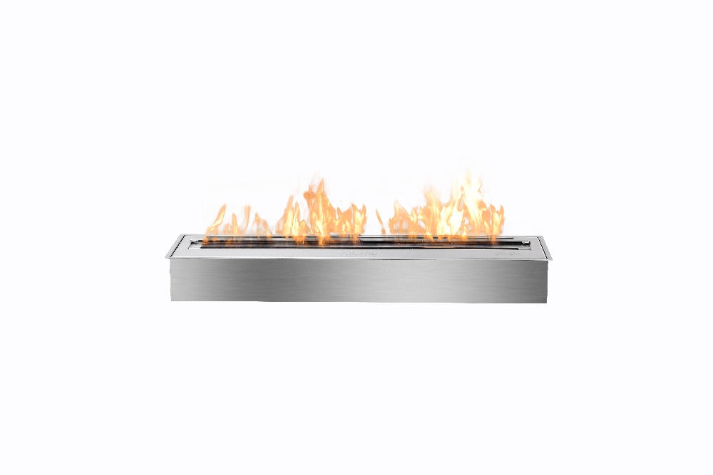on sale  fireplace with stainless steel burner 24 inch indoor fire place