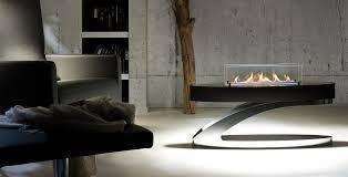 black wifi bio fireplace
