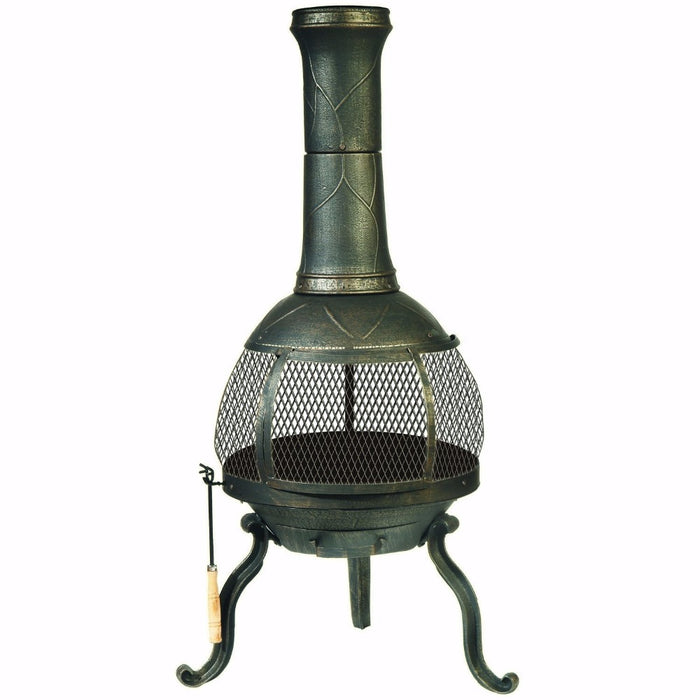 Outdoor Chimenea Fireplace