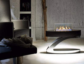 on sale  24''  smart burner bio ethanol fireplaces with remote control - Trivoshop