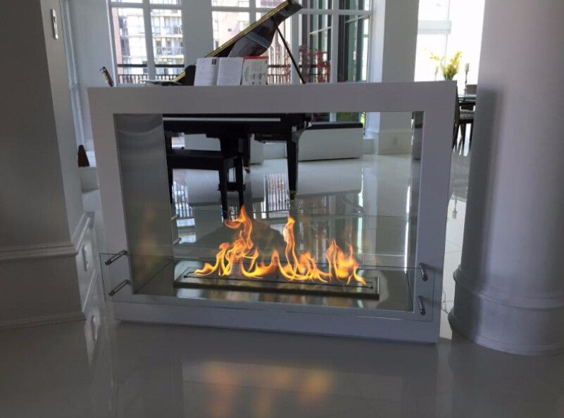 on sale  18''  bio ethanol fireplace with stainless steel burner  3L