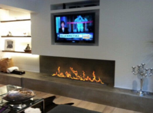 on sale  60''  bio ethanol fireplace with stainless steel burner