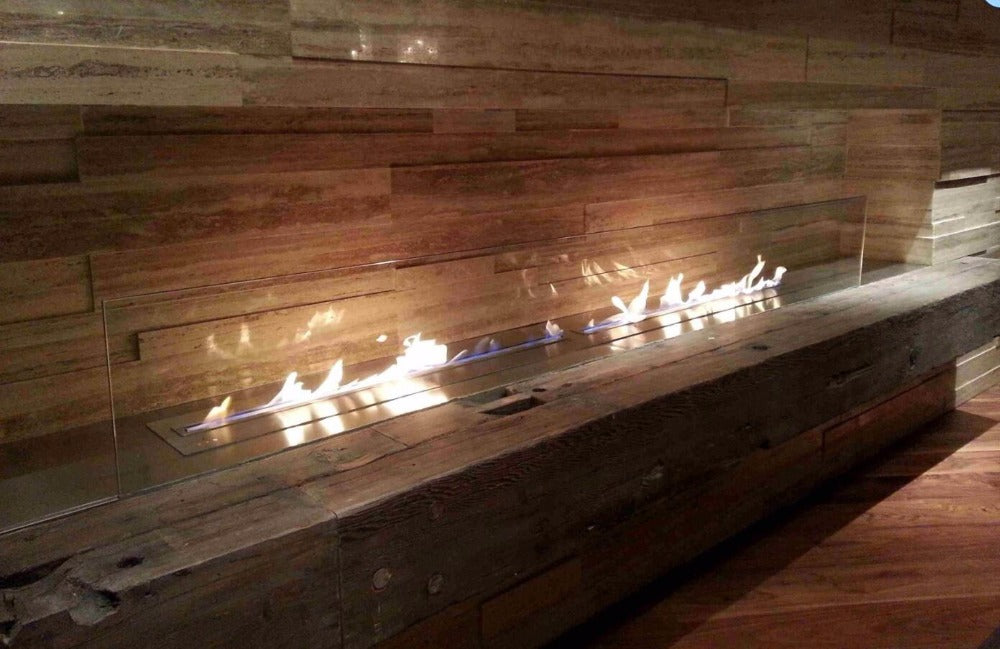 wifi black Bio Ethanol fireplaces - Trivoshop