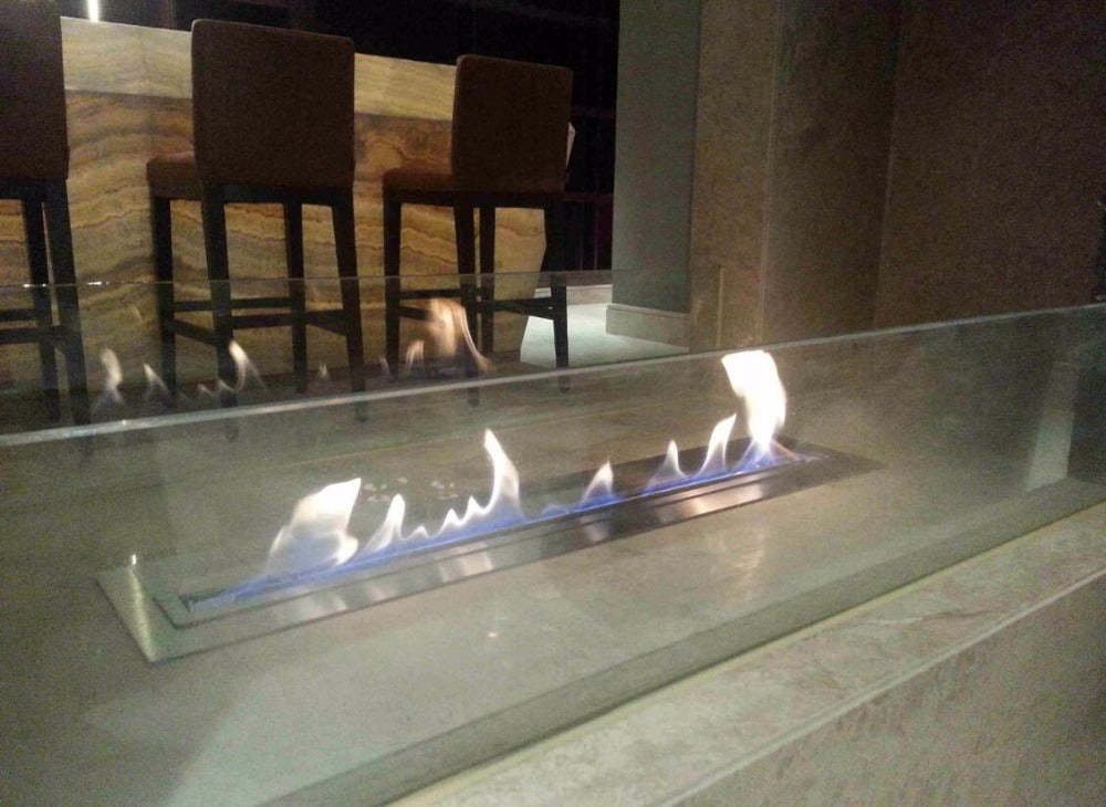 intellgent ethanol fire fireplace