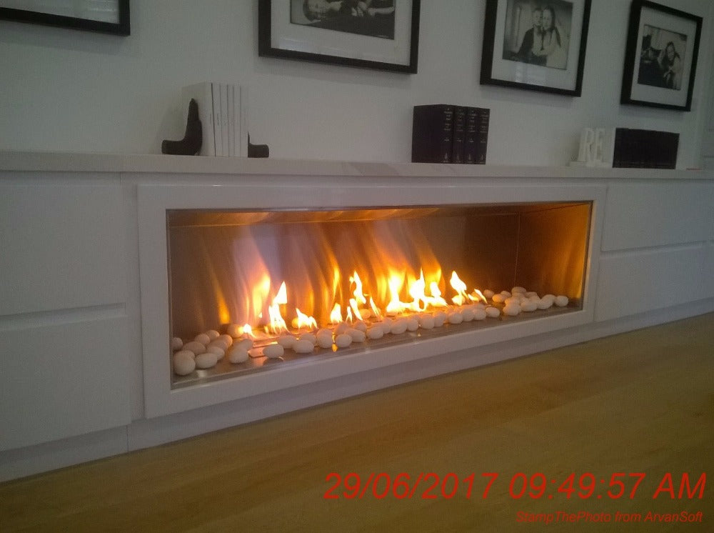 electric ethanol fireplaces corner