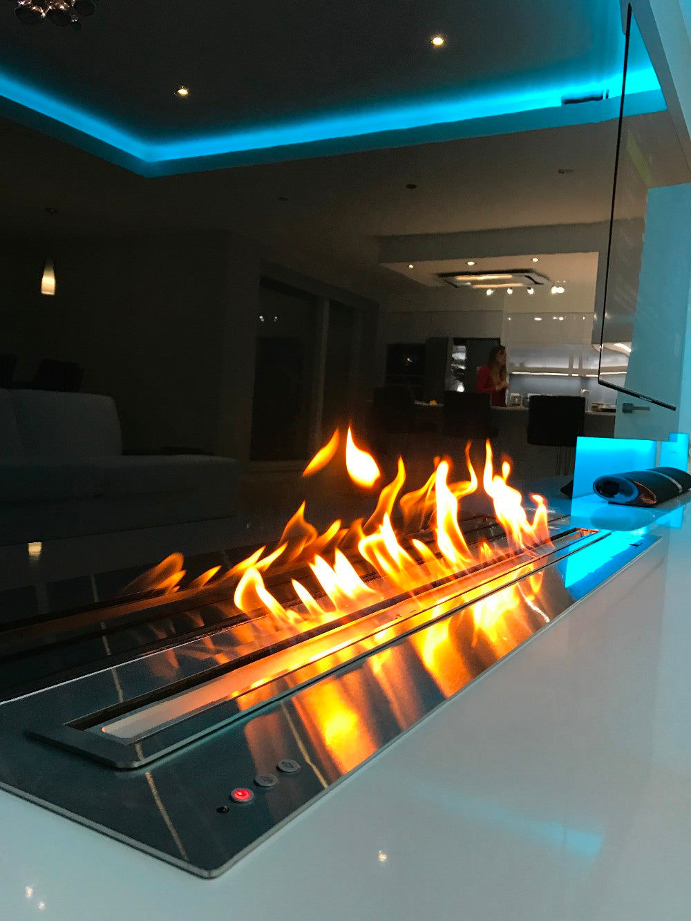ethanol wall fireplaces