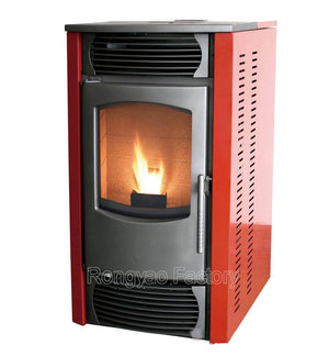 110sqm Computer Control Fireplace Stoves For Wood Pellets Sawdust Pellet Mill Stove Sall Electric Fireplace Best For Europe - Trivoshop.com