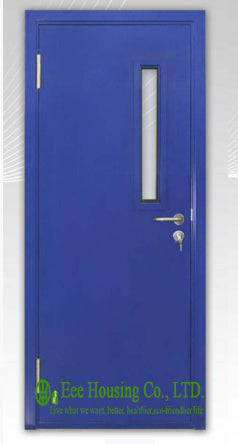 UL Label Steel Fire Rated Door with Glass Vision For Commercial Building/ School / Hospital Projects