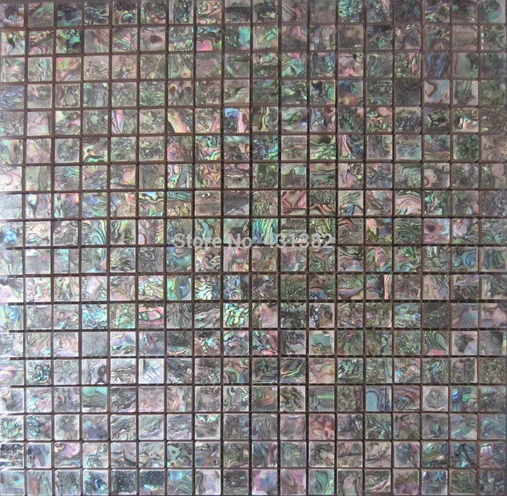 Green Abalone Shell Mosaic tile