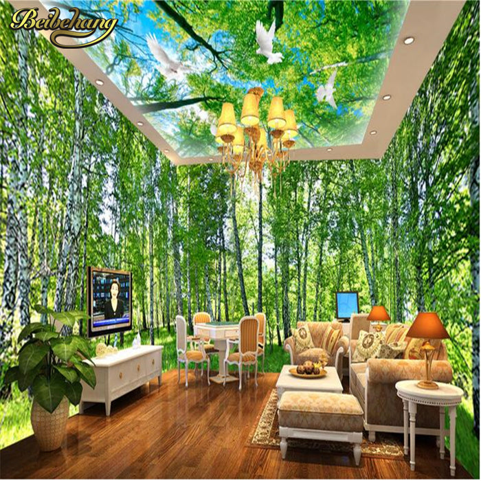 whole house backdrop mural 3d wallpaper