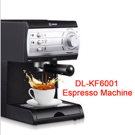 Semi-automatic Pump Pressure Coffee Maker Household Steaming Italian coffee machine pump pressure coffee maker DL-KF6001 - Trivoshop