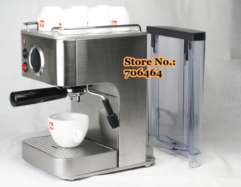 Espresso coffee maker stainless steel