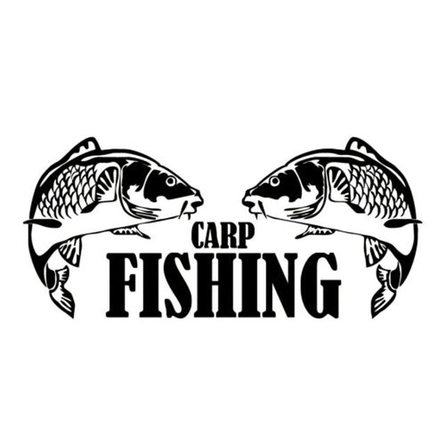 Carp Fishing Stickers