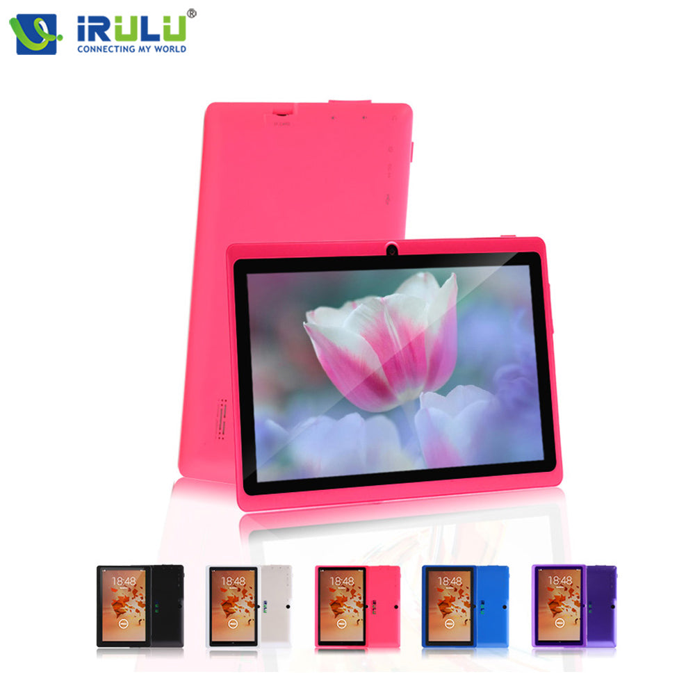iRULU X3 Android Tablet PC 1+16GB Allwinner A33 Quad Core 7 inch 1024*600 HD Eyeshield Screen Netbook RUSSIAN Keyboard Options