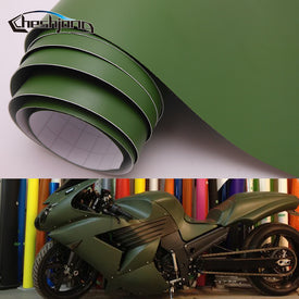 Matte Vinyl Wrap Car Sticker Army Green Car Styling Film with Air bubble free 30cm 40cm 50cm