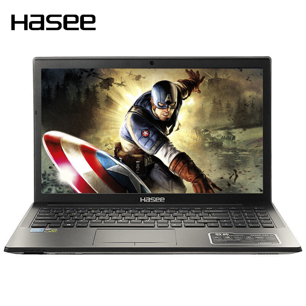 "HASEE GOD OF WAR K680D-G4D1 Laptop Notebook PC 15.6"" IPS 1920*1080 HD for Intel G4560 GTX1050Ti 4G GDDR5 8GB DDR4 RAM 1TB HDD"