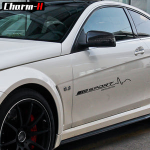 1 Piece for Mercedes Benz AMG Sport Limited Edition Racing Vinyl Decal Stickers W204 W205 C63 C117 W176 A45 CLA45 Door Stickers - Trivoshop.com