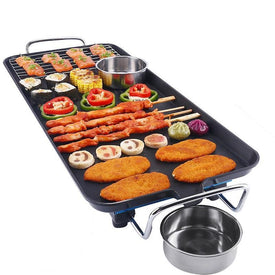 electric household korean cooking roast fish outdoor meat grill oven machine hotplate bakeware bbq barbecue baking pan tool - Trivoshop