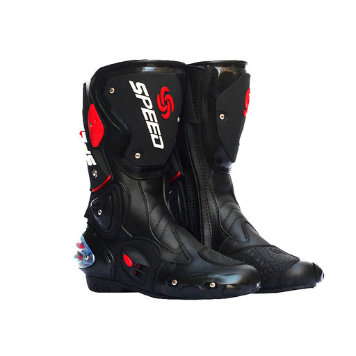 NEW Motorcycle Boot Waterproof Pro-biker Speed Bikers Moto Rmotorcyle acing Motocross Leather Shoes Motocross Racing Boots 2016