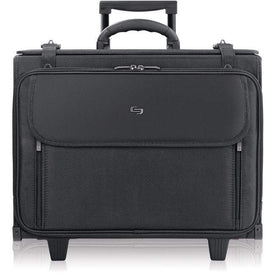"SOLO Accessories Solo Classic Carrying Case (Roller) for 17"" Notebook - Black"