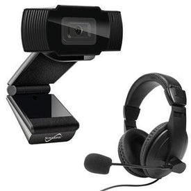 Supersonic Cameras & Frames Pro HD Video Webcam Headset