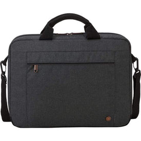 "The Thule Group Accessories Case Logic Era ERAA-114-OBSIDIAN Carrying Case (Attaché) for 14.1"" Notebook - Obsidian"