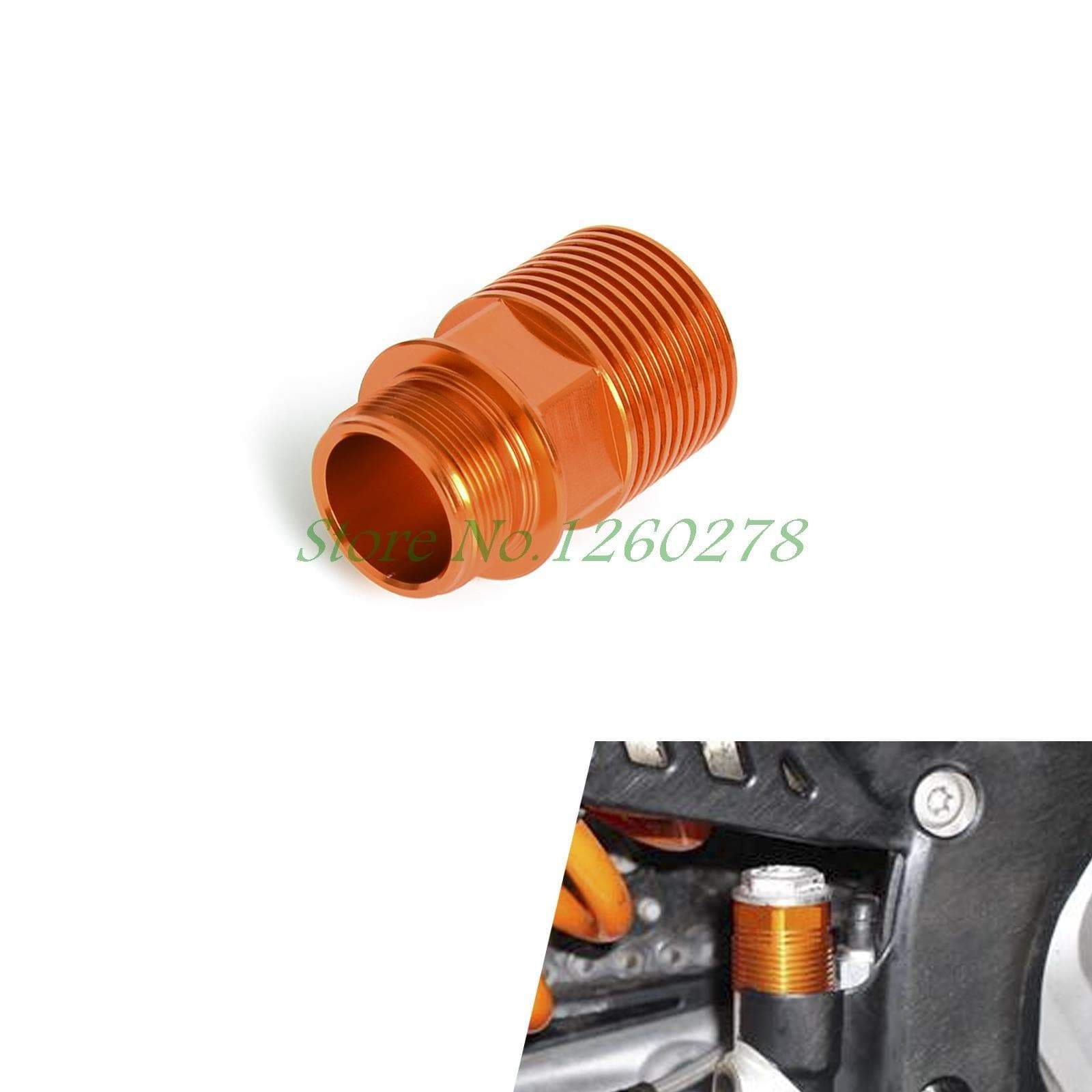 Motorcycle Rear Brake Reservoir Extender For KTM 125 250 300 450 500 525 530 - Trivoshop