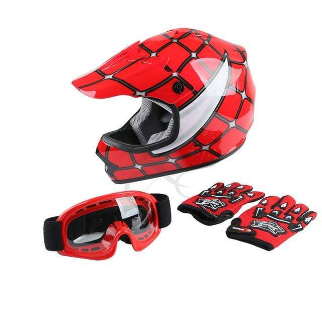 Trivoshop.com XF270214 Red / L / United States Motorcycle Helmet