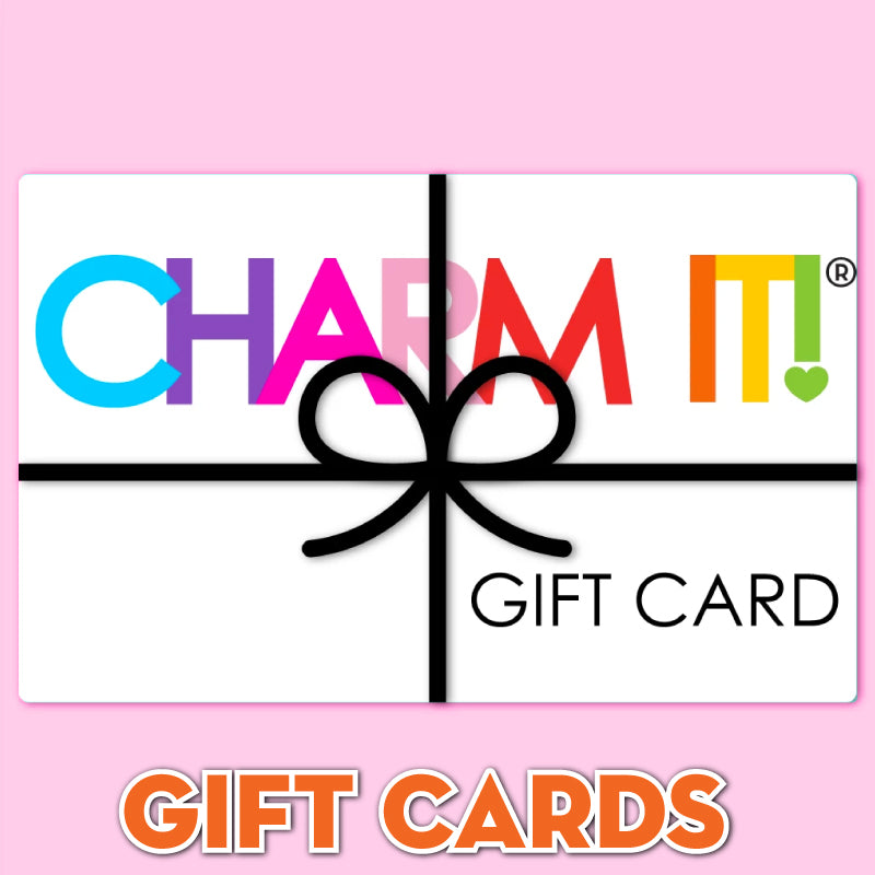CHARM IT! Gift Certificates - Give the gift that lets her pick out her very own charms and beyond with a CHARM IT! e-gift card.  Perfect for birthdays, holidays, personal achievements, or just because.