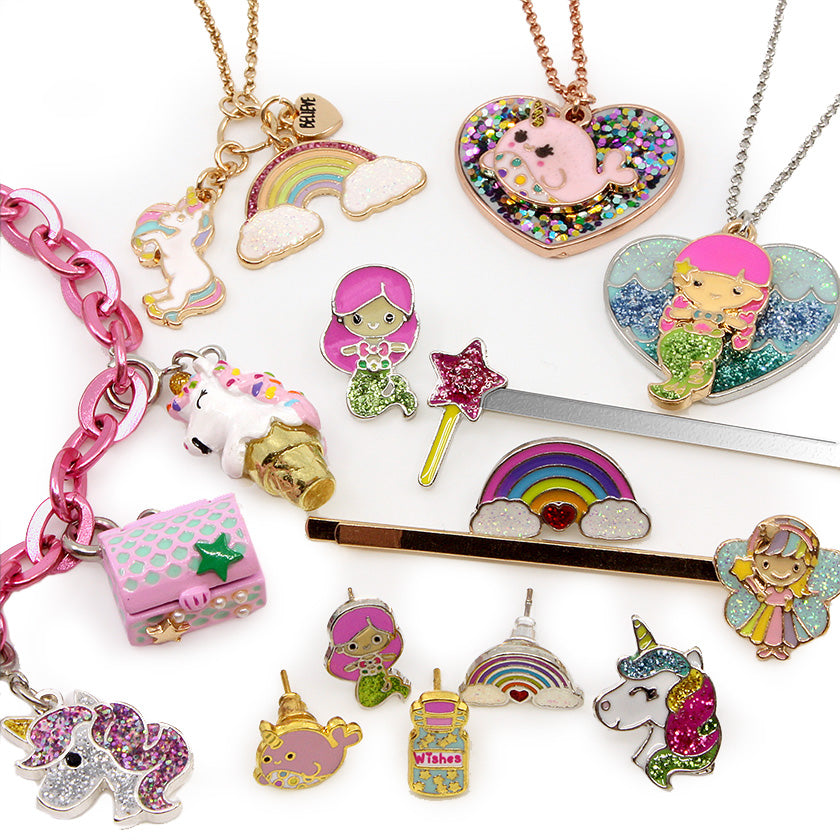 Unicorn, Mermaid & Narwhals Charms & Jewelry