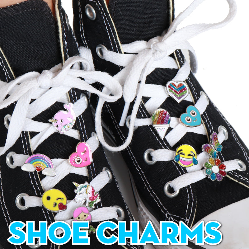 CHARM IT! Shoelace Charms - Charm her from head to toe with shoelace charms that take laces to another level! Mix and match for even more fun!