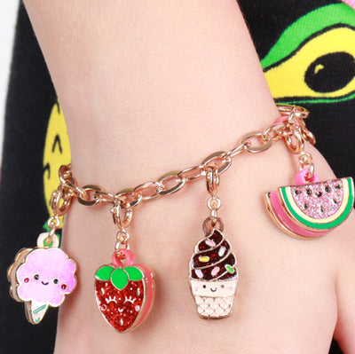 Buy Gold Scented Strawberry Charm