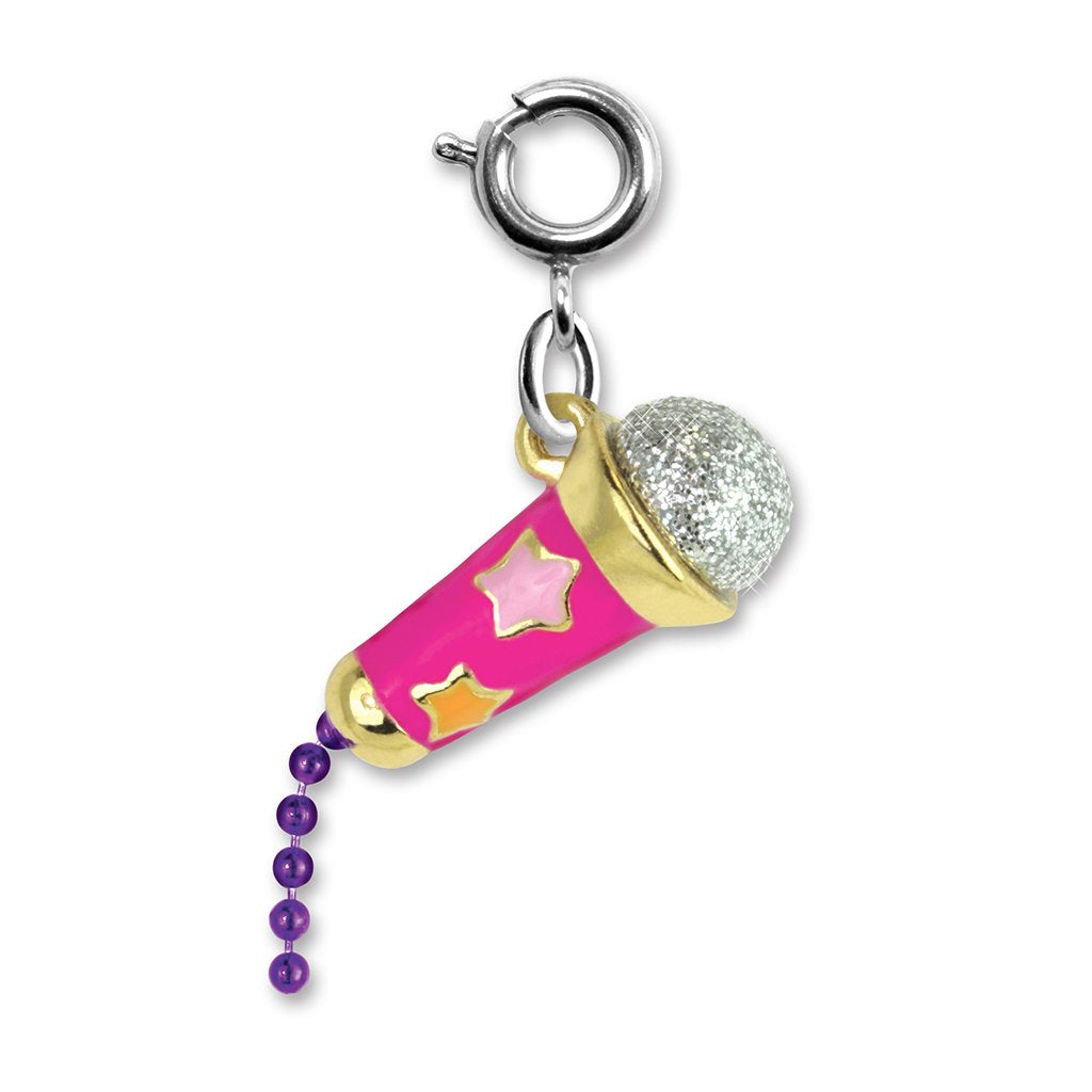 Star Microphone Charm - shopcharm-it