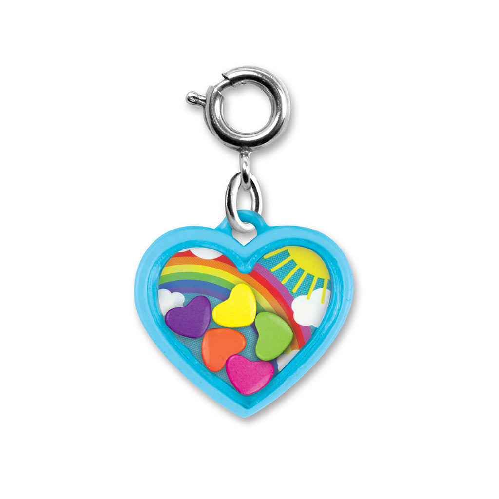 CHARM IT! Rainbow Heart Shaker Charm
