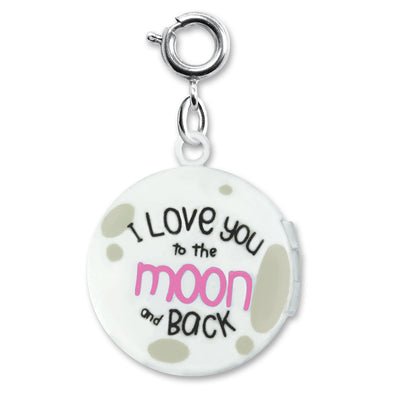 Moon Locket Charm