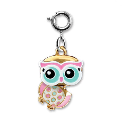 Swivel Owl Charm - shopcharm-it