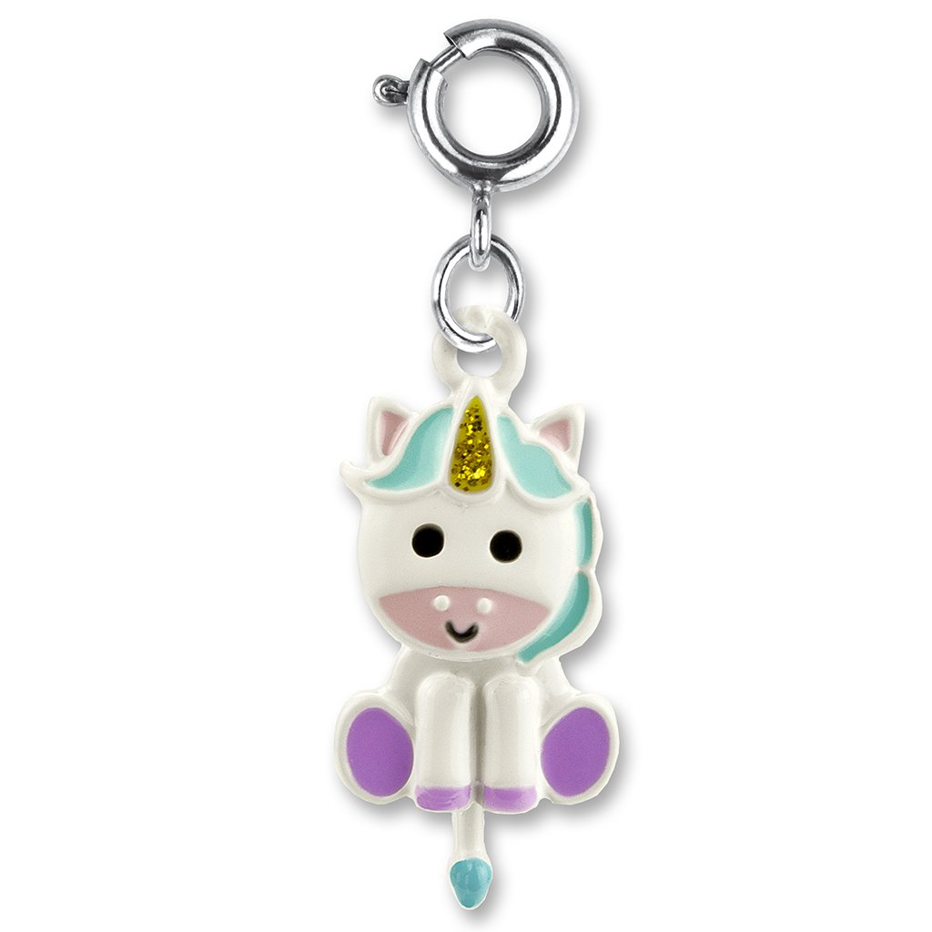 Swivel Unicorn Charm