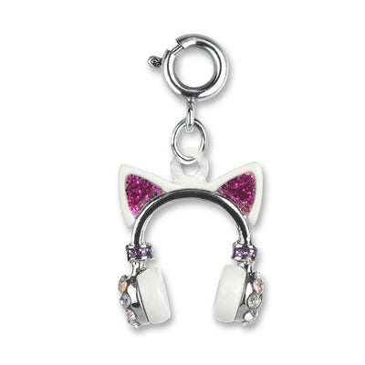 Kitty Ears Headphones Charm