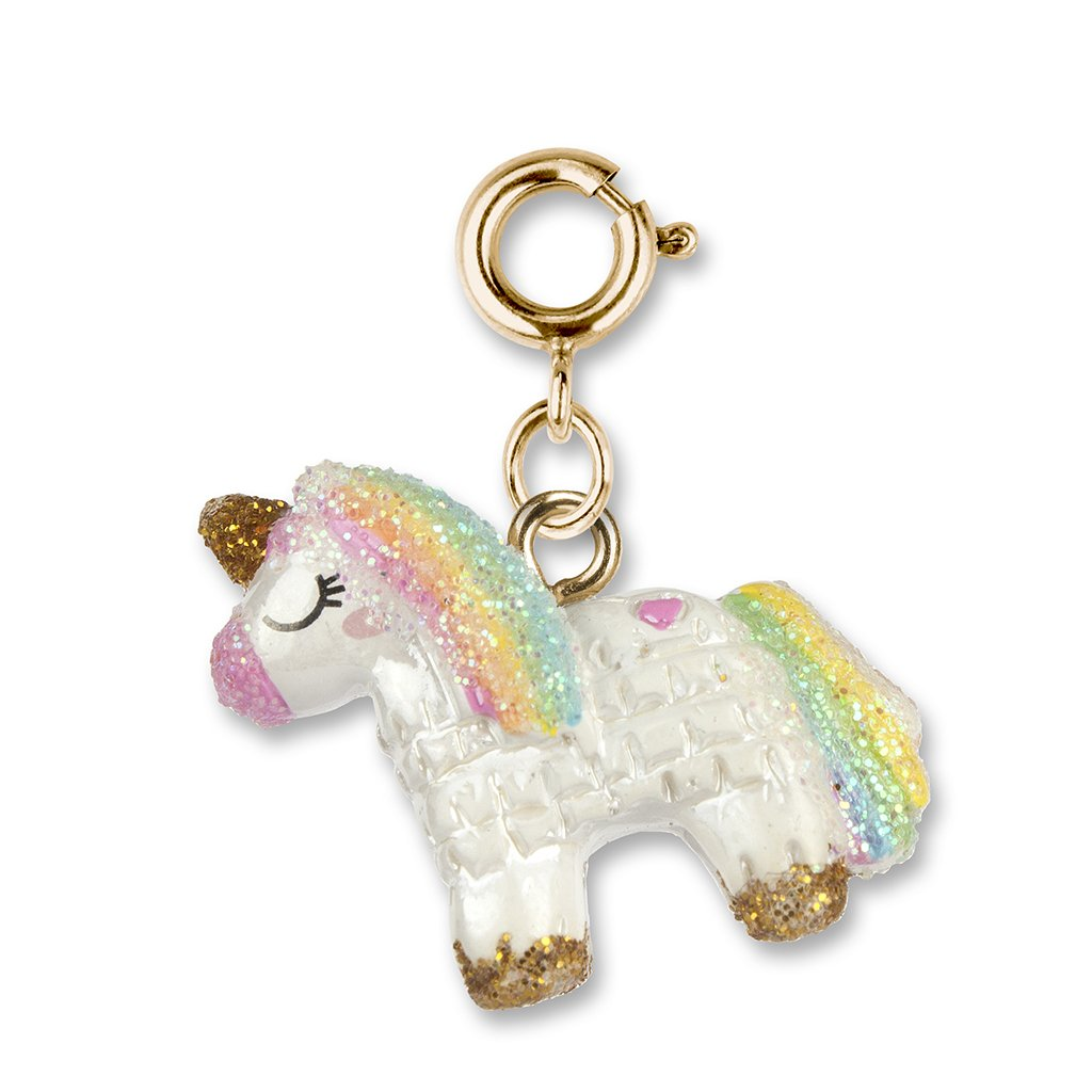 CHARM IT! Gold Unicorn Pinata Charm