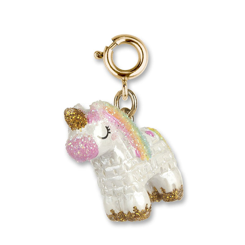 Gold Unicorn Pinata Charm - shopcharm-it
