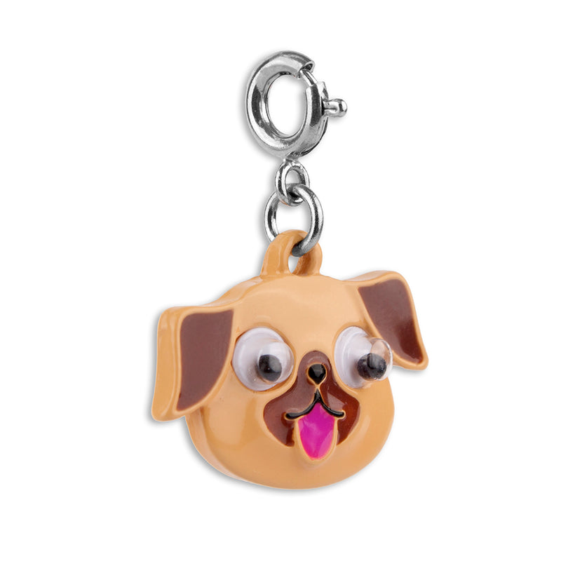 Shop Googly Eyes Pug Charm