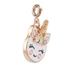 Buy Gold Unicorn Smiley Charm
