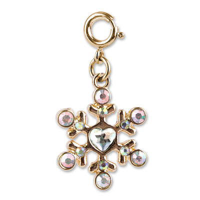 Gold Snowflake Charm - shopcharm-it
