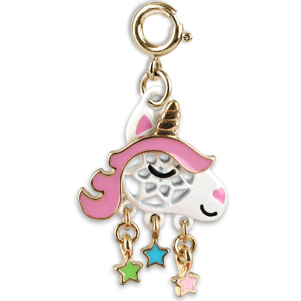 CHARM IT! Gold Unicorn Dream Catcher Charm