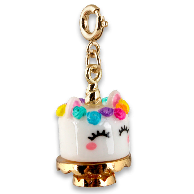 Gold Unicake Charm - shopcharm-it